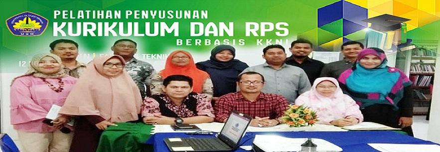 Pelatihan penyusunan Kurikulum dan RPS Berbasis KKNTI
